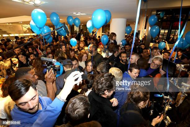 General view of the Store minutes before the permanent closure at Colette on December 20 2017 in Paris France