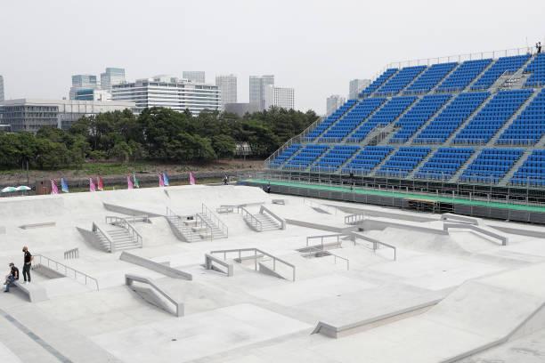 JPN: Skateboarding Olympic Test Event