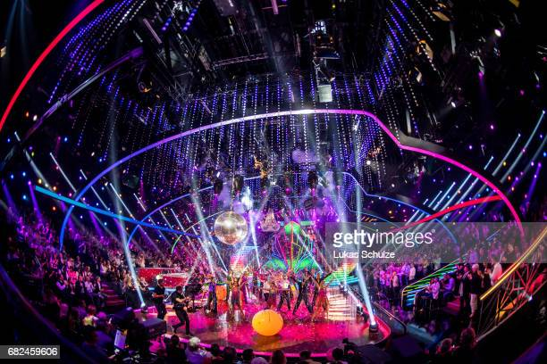 General view of the studio during the 8th show of the tenth season of the television competition 'Let's Dance' on May 12 2017 in Cologne Germany