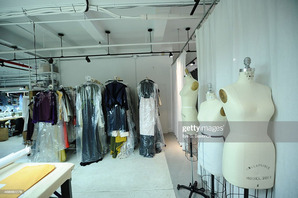 A General View Of The Studio Space At Fashion Designer Bibhu News Photo Getty Images
