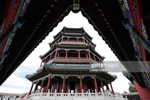 A general view of the Summer Palace on June 11 2015 in Beijing China Located on the northwest outskirts of Beijing the site of the Summer Palace had...