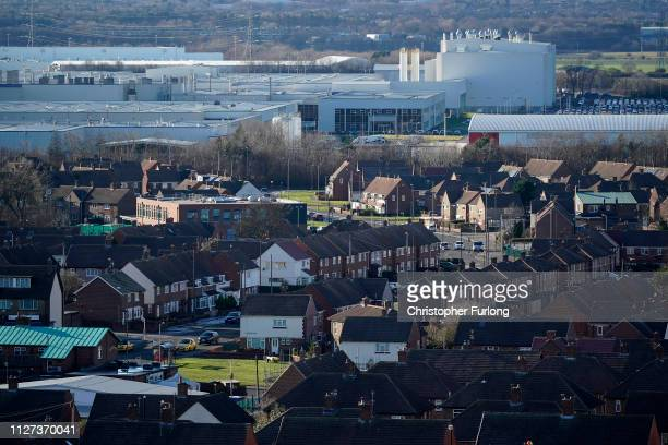 A general view of the Sunderland car assembly plant of Nissan on February 04 2019 in Sunderland England Nissan has announced to workers that the...