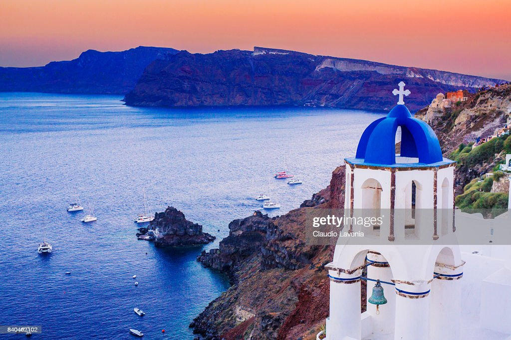 A Place To Visit: Santorini : News Photo