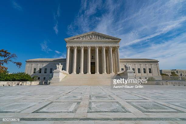 General view of the Supreme Court of the United States on October 31 2016 in Washington DC Washington DC