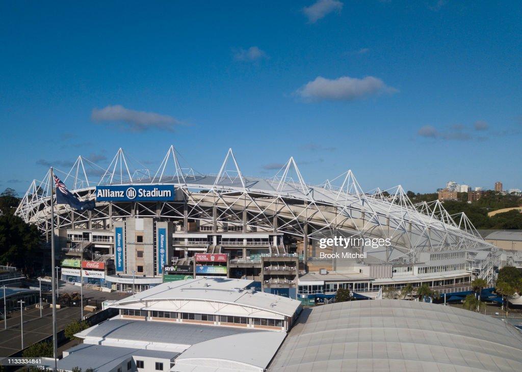 Sydney Football Stadium Demolition : News Photo