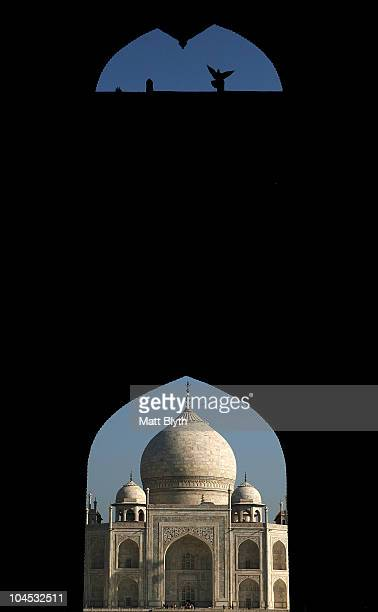 General view of the Taj Mahal on September 29 2010 in Agra India Completed in 1643 the mausoleum was built by th Mughal emperor Shah Jahan in memory...