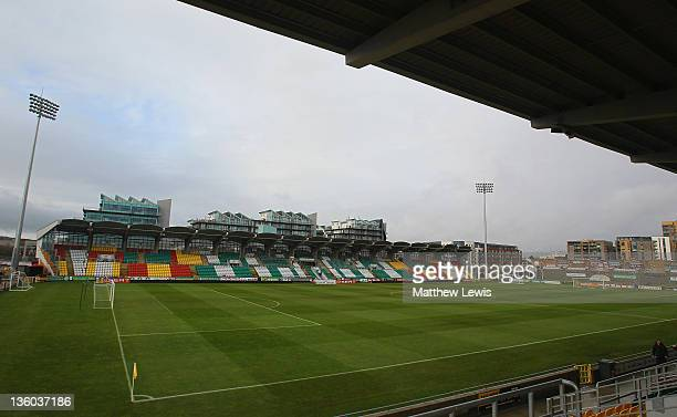 General view of the Tallaght Stadium on December 15, 2011 in Dublin, Ireland.