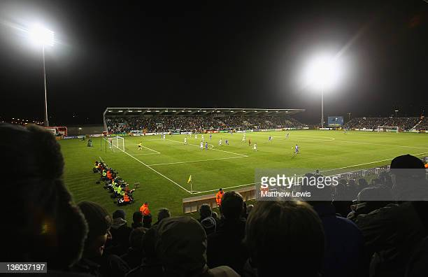 A general view of the Tallaght Stadium on December 15 2011 in Dublin Ireland