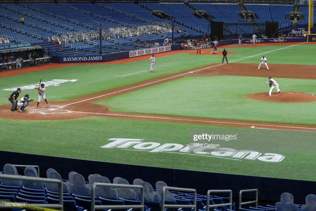 Boston Red Sox v Tampa Bay Rays : News Photo