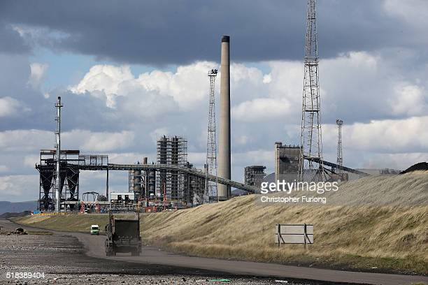 General view of the Tata Steel plant at Port Talbot on March 31, 2016 in Port Talbot, Wales. Indian owners Tata Steel has put its British business up...