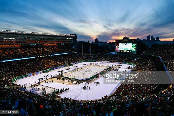 A general view of the TCF Bank Stadium during the 2016 Coors Light Stadium Series Alumni Game on February 20 2016 in Minneapolis Minnesota