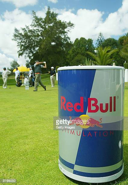 A general view of the tee is pictured on The European Tour at The Algarve Open de Portugal Golf at Le Meridien Penina Golf Club on April 2 2004 in...