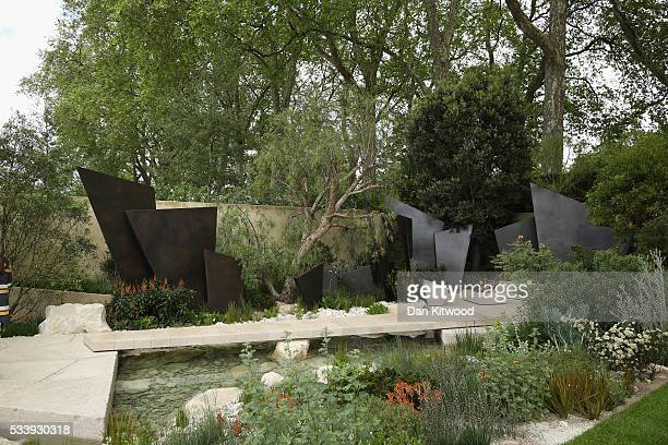 A general view of the Telegraph Garden which has won 'Best Show Garden' at the 2016 Chelsea Flower Show at Royal Hospital Chelsea on May 24 2016 in...