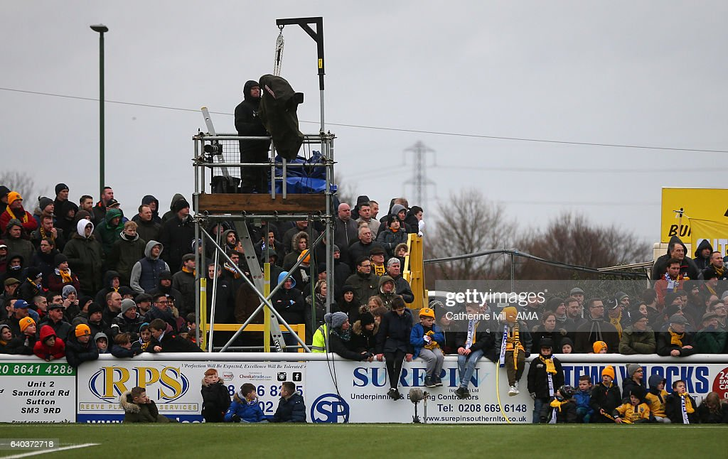 Sutton United v Leeds United - The Emirates FA Cup Fourth Round : News Photo