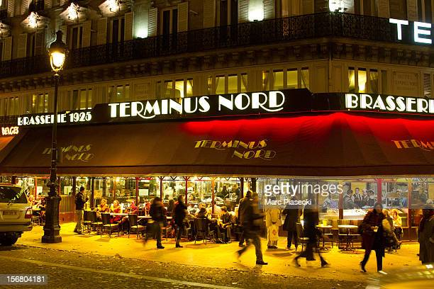 A general view of the 'Terminus Nord' Brasserie on November 21 2012 in Paris France