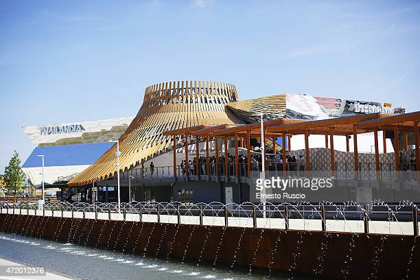 General view of the Thailandia pavilion during the Milano EXPO 2015 at Fiera Milano Rho on May 2 2015 in Milan Italy
