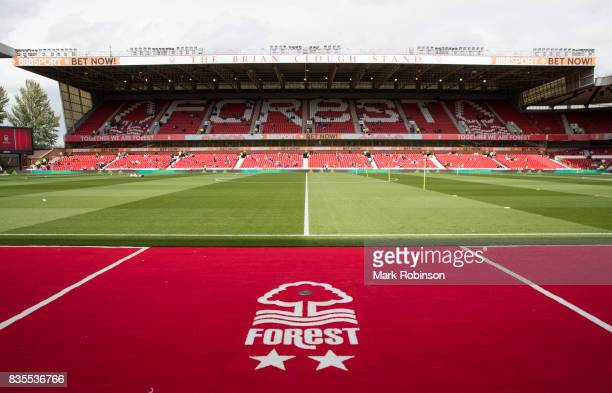 General View of the the Brian Clough stand before the Sky Bet Championship match between Nottingham Forest and Middlesbrough at City Ground on August...