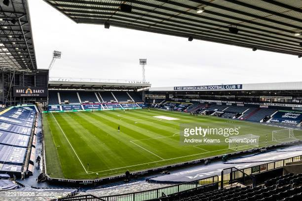 General view of the The Hawthorns stadium during the Premier League match between West Bromwich Albion and Burnley at The Hawthorns on October 19,...