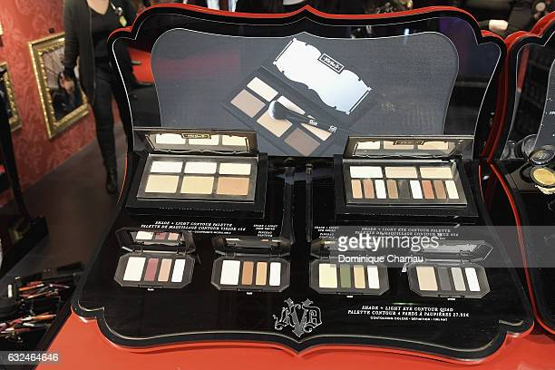 A general view of the the Kat Von D Beauty opening weekend with influencers at Sephora ChampsElysees on January 23 2017 in Paris France