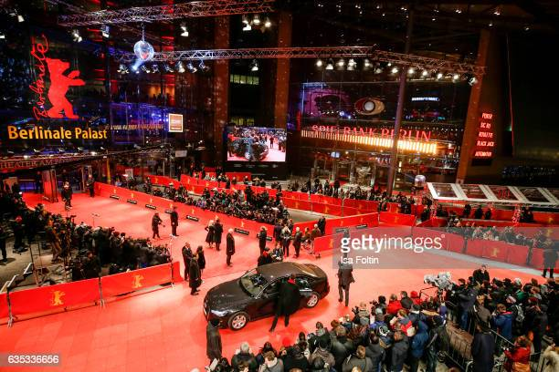 A general view of the 'The Party' premiere during the 67th Berlinale International Film Festival Berlin at Berlinale Palace on February 13 2017 in...