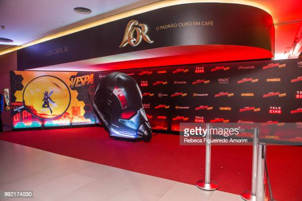 General view of the the Sao Paulo Premiere of The AntMan and The Wasp at Cinépolis Shopping JK Iguatemi on July 4 2018 in São Paulo Brazil