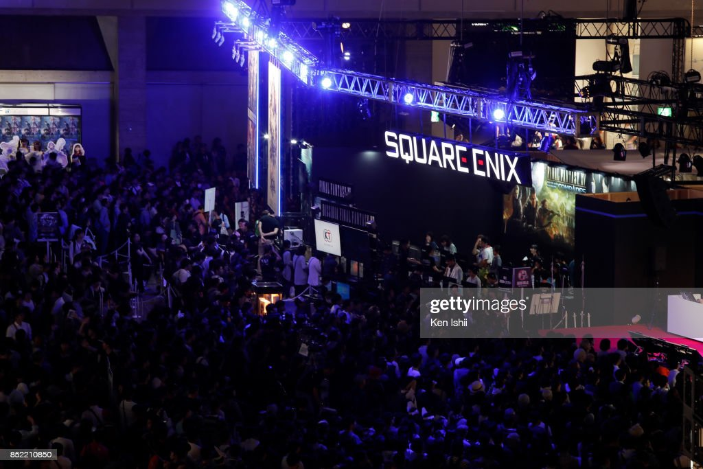 Tokyo Game Show Opens To Public : News Photo