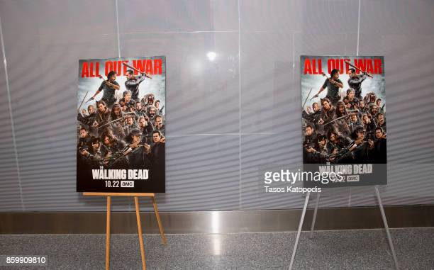 General view of the The Walking Dead event at Smithsonian National Museum Of American History on October 10 2017 in Washington DC