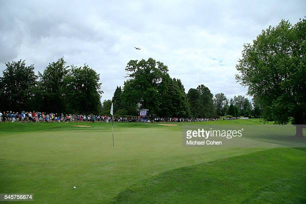 A general view of the third hole during the fourth and final round of the Cambia Portland Classic held at Columbia Edgewater Country Club on July 3...