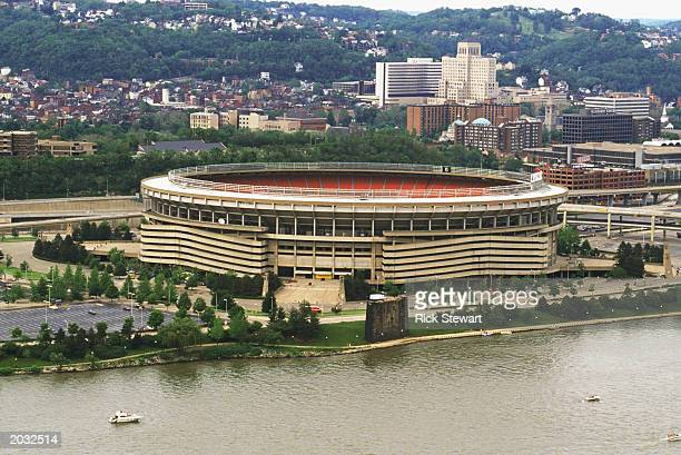 General view of the Three Rivers Stadium taken before the 1989 season.