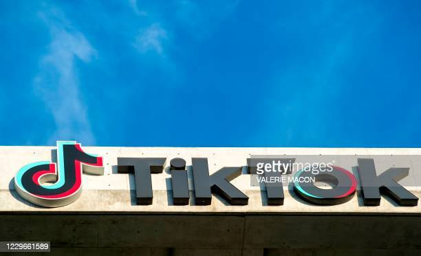 General view of the TikTok building in Culver City California on November 17 2020