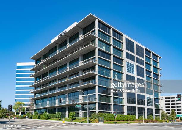 General view of the TikTok headquarters on October 13 2020 in Culver City California