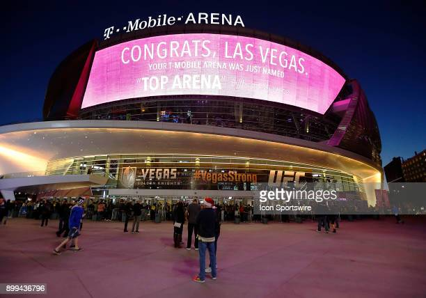 A general view of the TMobile Arena during a regular season NHL game between the Florida Panthers and the Vegas Golden Knights on Sunday Dec 17 in...