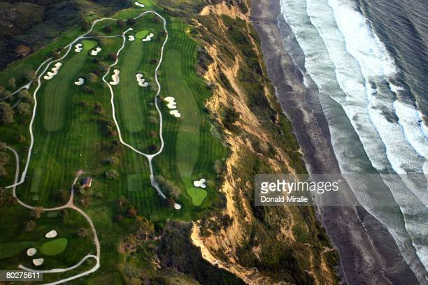 General view of the Torrey Pines South Golf Course, site of the 2008 U.S. Open, on March 16, 2008 in La Jolla, California.