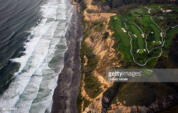 A general view of the Torrey Pines South Golf Course site of the 2008 US Open on March 16 2008 in La Jolla California