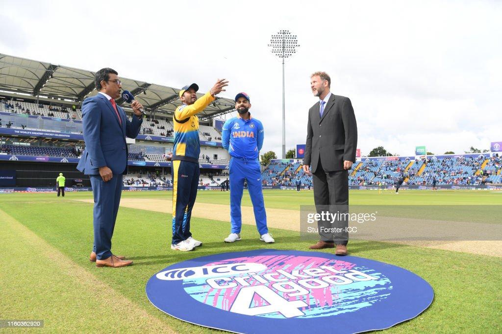 Sri Lanka v India - ICC Cricket World Cup 2019 : News Photo