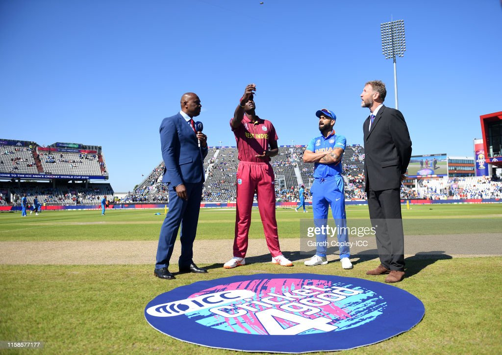 West Indies v India - ICC Cricket World Cup 2019 : News Photo