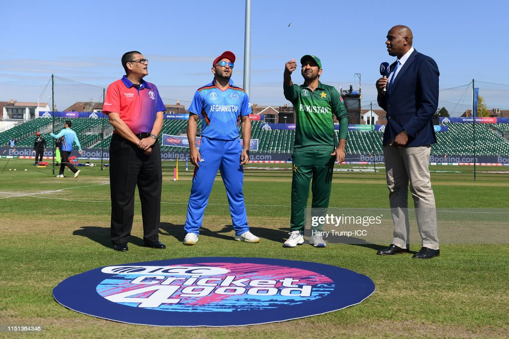 GBR: Pakistan v Afghanistan – ICC Cricket World Cup 2019 Warm Up