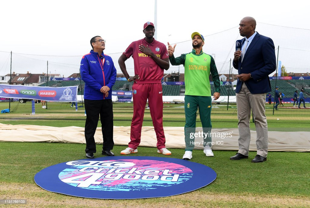 GBR: South Africa v West Indies – ICC Cricket World Cup 2019 Warm Up