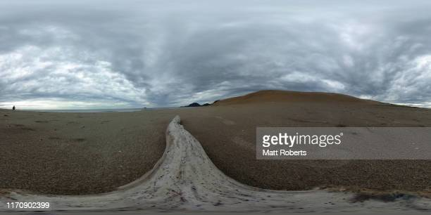 A general view of the Tottori Sand Dunes on August 29 2019 in Tottori Japan The Tottori Sand Dunes form the only large dune system in Japan and were...