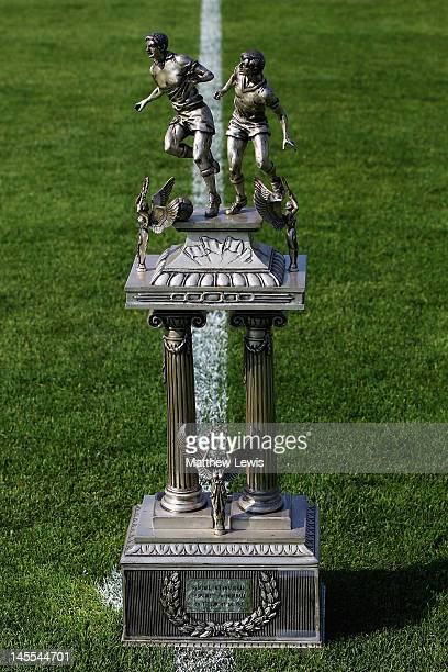 A general view of the Toulon trophy during the Toulon Tournament Final between Mexico and Turkey at Stade Perruc on June 1 2012 in Hyeres France