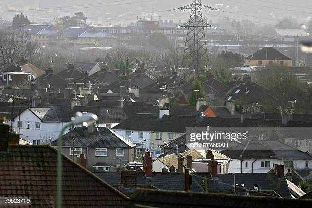 A general view of the town of Bridgend is pictured in south Wales January 30 2008 Another teenage girl is thought to have hanged herself in a county...