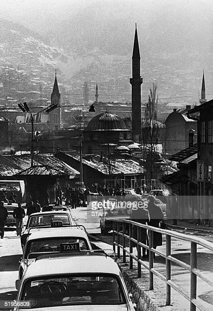 General view of the town of Sarajevo taken 20 March 1980 Sarajevo will be the host of the XIVth Winter Olympic Games scheduled from 07 February to 19...