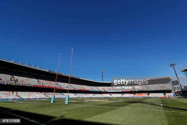 General view of the Toyota Stadium on June 16 2018 in Bloemfontein South Africa