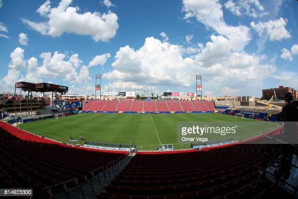 General view of the Toyota Stadium prior the CONCACAF Gold Cup Group A match between Costa Rica and French Guiana at Toyota Stadium on July 14 2017...