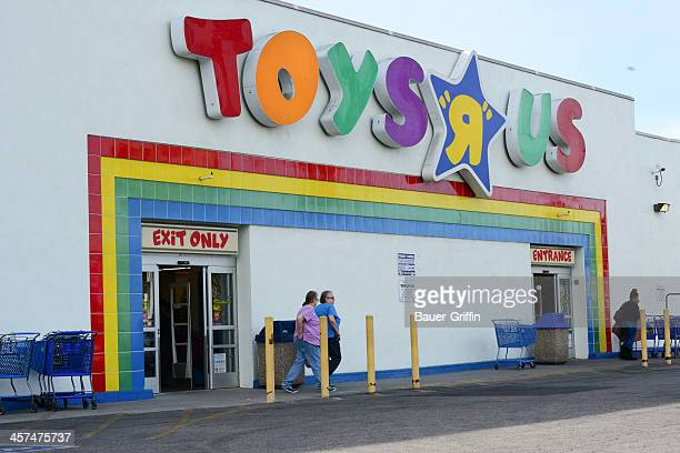 General view of the Toys 'R' Us store on December 17 2013 in Los Angeles California