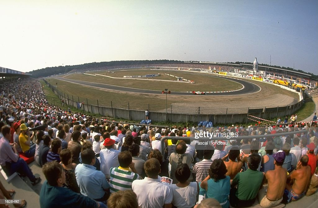 General view of the track : News Photo