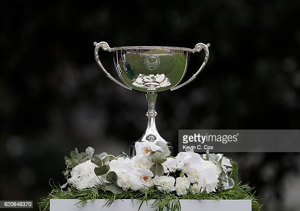 A general view of the trophy during day 3 of the 2016 East Lake Cup at East Lake Golf Club on November 2 2016 in Atlanta Georgia