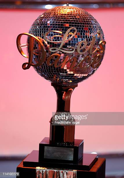 A general view of the trophy during semi final of the 'Let's Dance' TV show at Coloneum on May 11 2011 in Cologne Germany