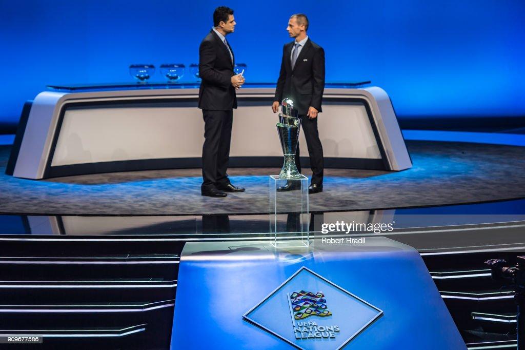 UEFA Nations League Draw : Fotografía de noticias