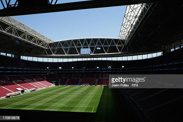 General view of the Turk Telekom Arena on June 20 2013 in Istanbul Turkey